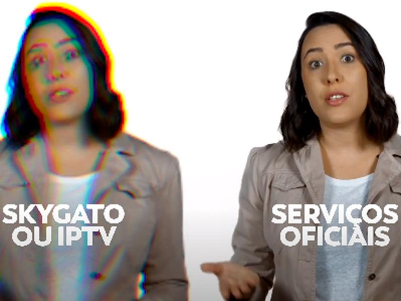 """SE LIGA NA DICA: OS PERIGOS DO APARELHO DE TV """"ALTERNATIVO"""" OU SKYGATO."""
